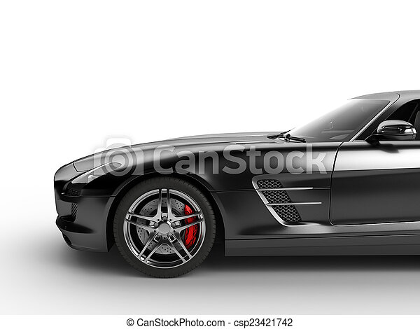 Sport Car On White Background   Csp23421742