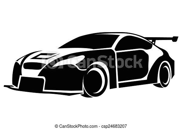 Car Symbol Vector Clipart Eps Images 118455 Car Symbol Clip Art
