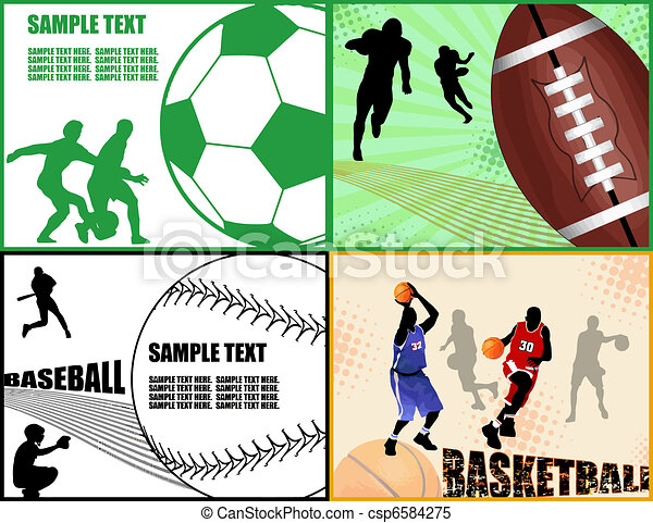 Sport cards - csp6584275