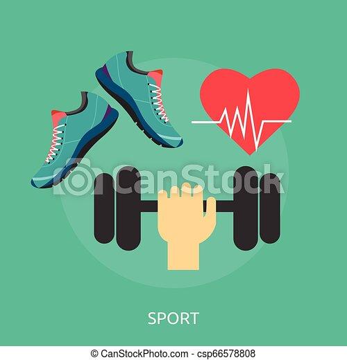 Sport Conceptual illustration Design - csp66578808