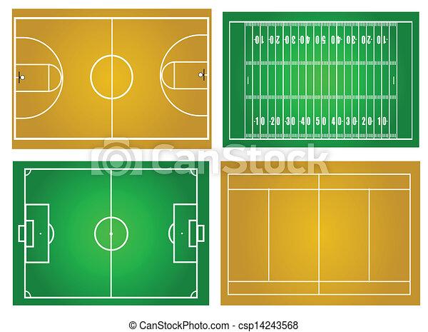 Sport fields - csp14243568