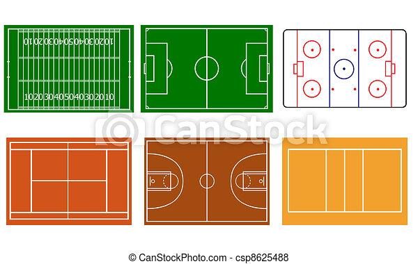 sport fields - csp8625488