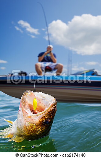 sport fischen - csp2174140