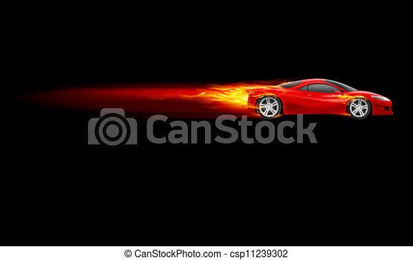 Sport Hot Car - csp11239302