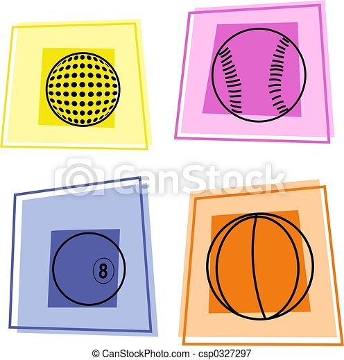 sport icons - csp0327297