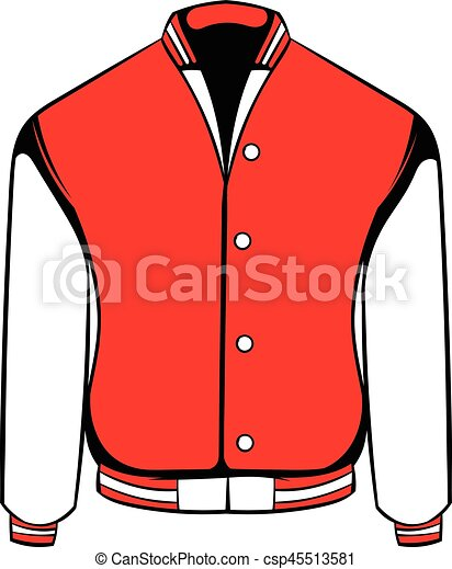 Sport Jacket Icon Icon Cartoon