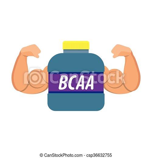 sport nutrition icon - csp36632755