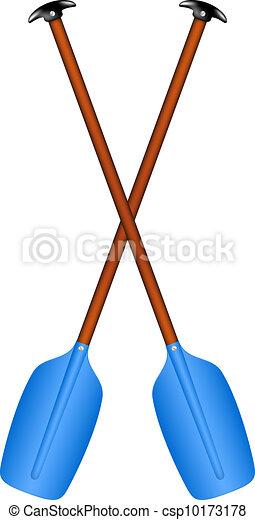 Sport oars - csp10173178