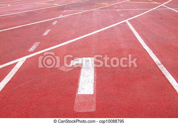 sport running track - csp10088795