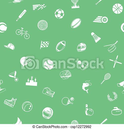 sport, seamless, bakgrund, struktur - csp12272992