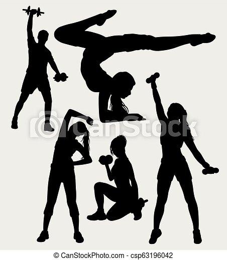 sport, sylwetka - csp63196042