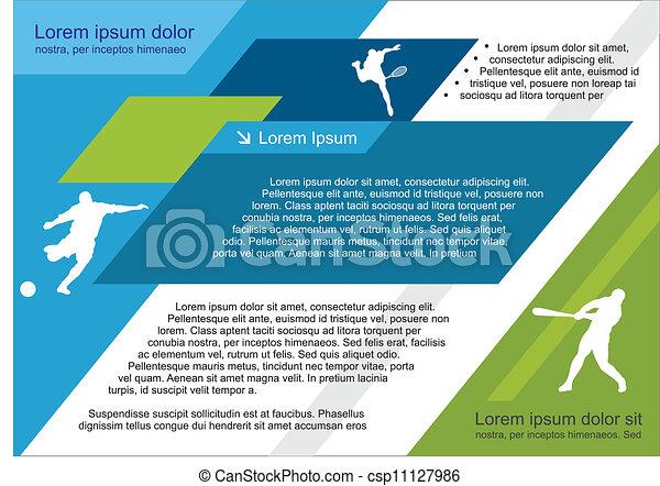 sport template - csp11127986