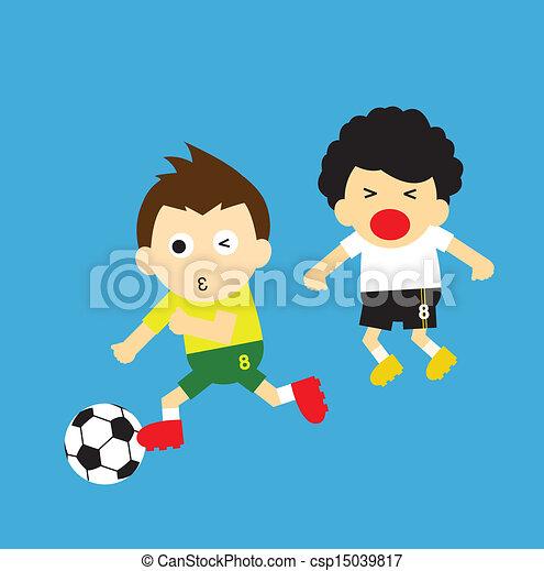 sport vector cartoon - csp15039817