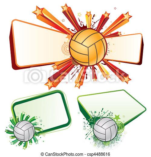 sport, volley-ball - csp4488616