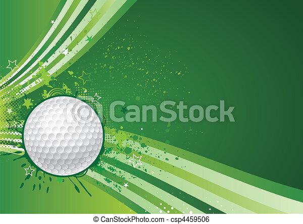 sportende, golf - csp4459506