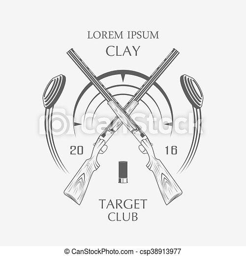 sporting clay Skeet - csp38913977