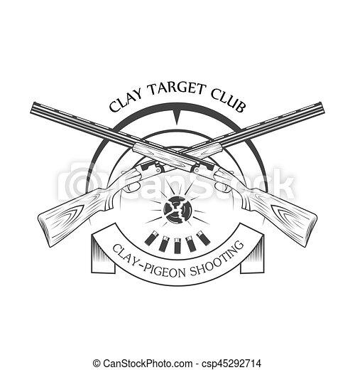 sporting clay Skeet - csp45292714