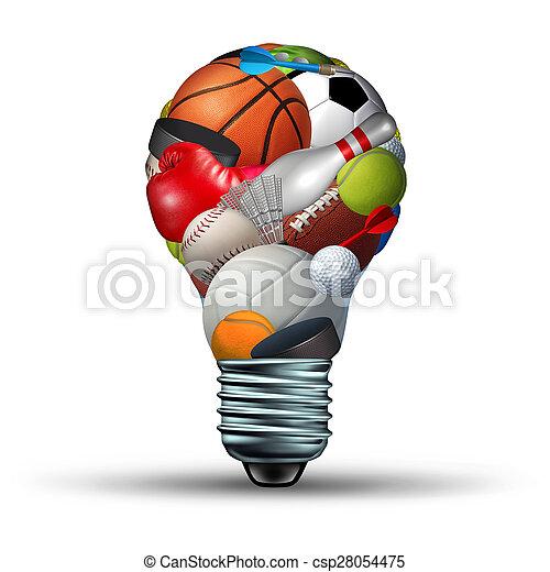 Sports Activity Ideas - csp28054475