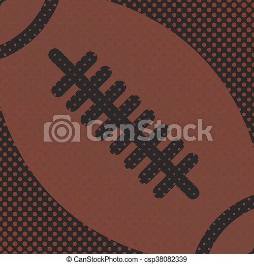Sports background, vector - csp38082339