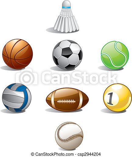 sports ball collection - csp2944204