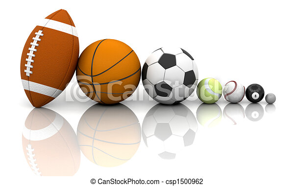 Sports balls - csp1500962
