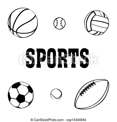Black And White Images Of Sports Balls Free Download Oasis Dl Co