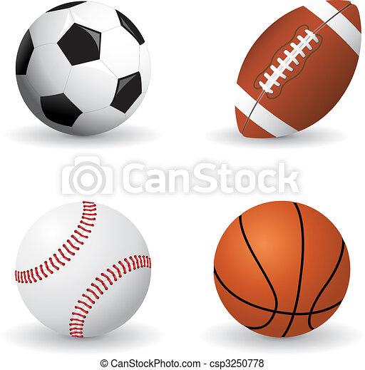 Sports balls - csp3250778