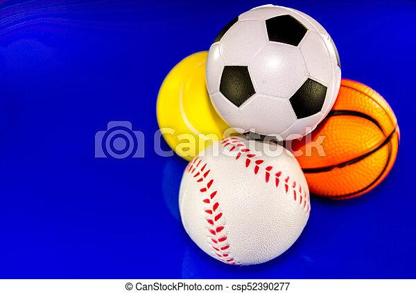 Sports Balls - csp52390277