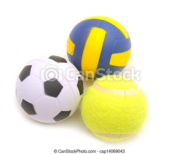 Sports balls  - csp14069043