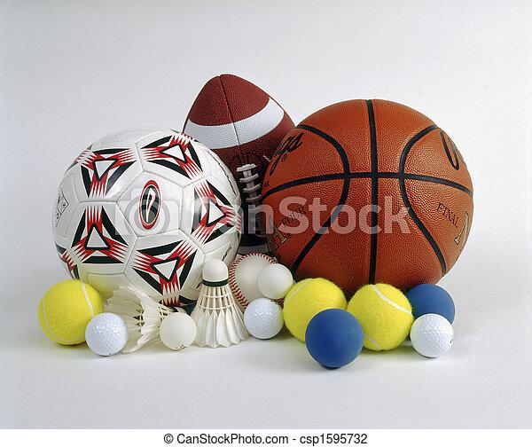 Sports balls - csp1595732