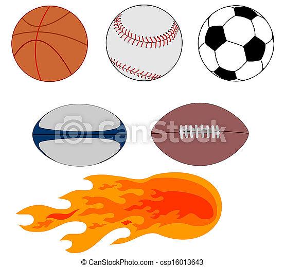 Sports Balls - csp16013643