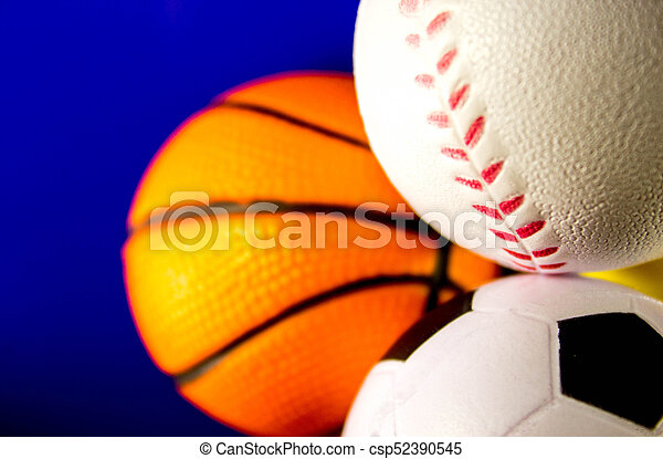 Sports Balls - csp52390545