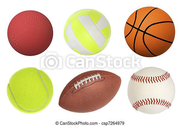 Sports balls - csp7264979