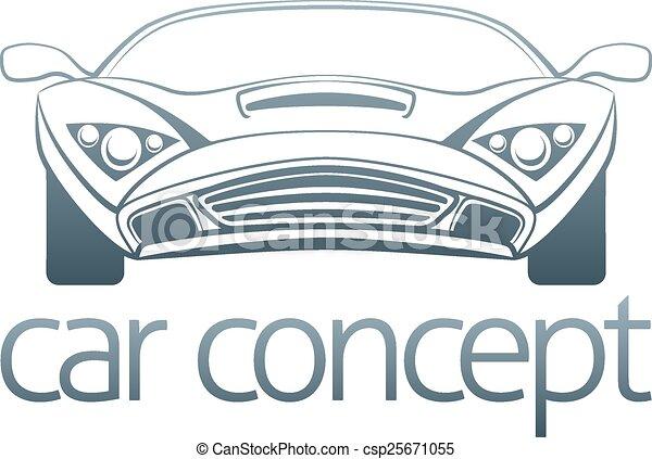 Sports car design - csp25671055