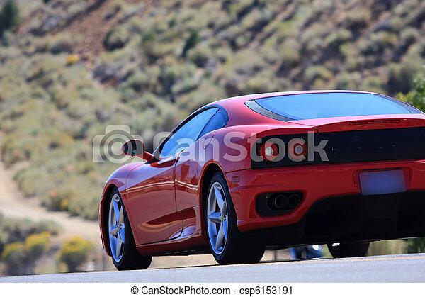 sports car - csp6153191