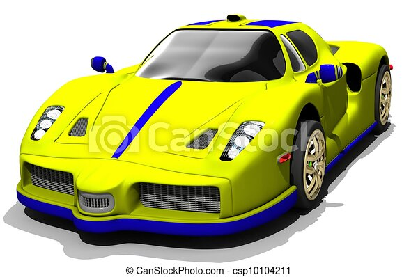 Sports Car Racing Clipart   Search Illustration, Drawings And Vector EPS  Graphics Images   Csp10104211