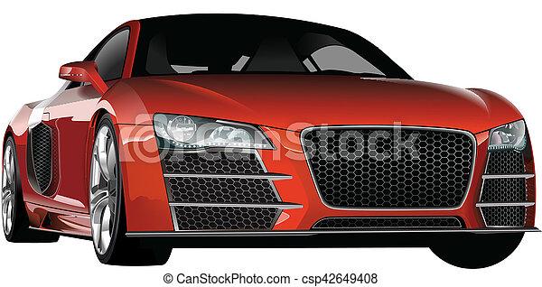 Sports car - csp42649408