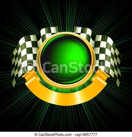 Sports Emblem, vector - csp14057777