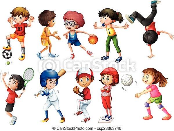Sports - csp23863748