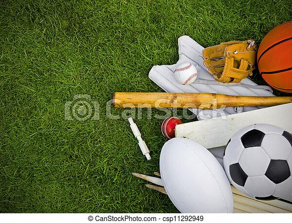 sports equipment - csp11292949