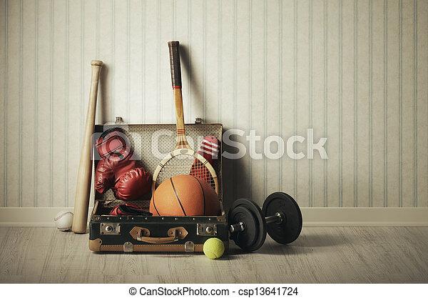 Sports equipment - csp13641724