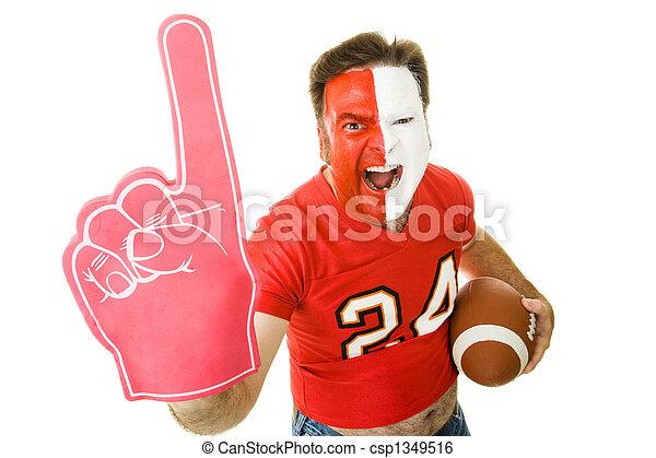 Sports Fan Winner - csp1349516
