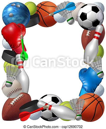 Sports Frame - csp12690702