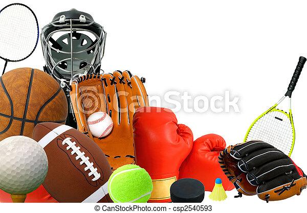 Sports Gears - csp2540593