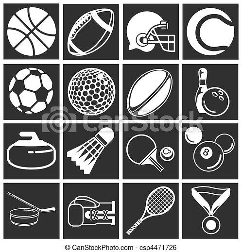 sports icon set - csp4471726