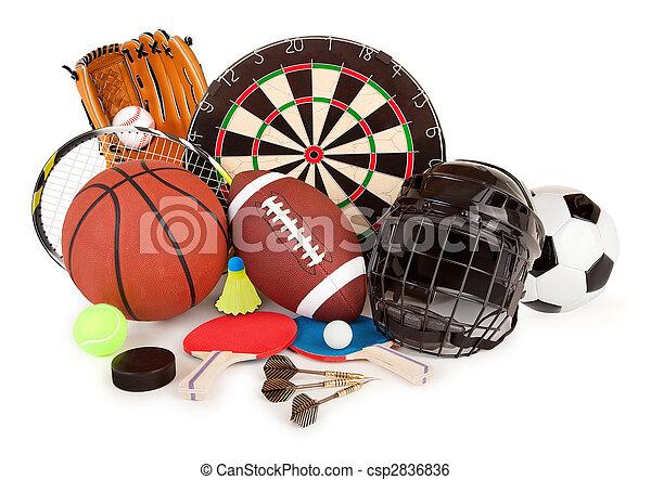 sports, jeux, arrangement - csp2836836