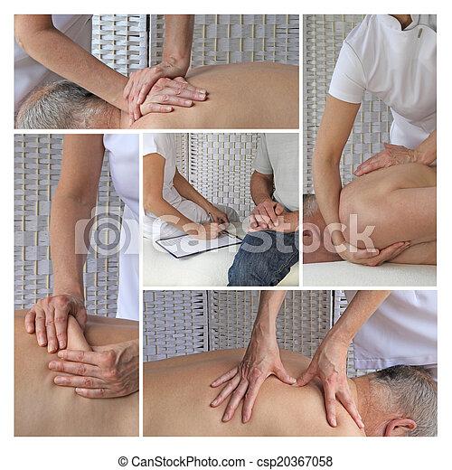 Sports Massage Therapy - csp20367058