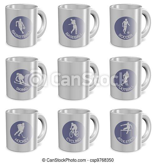sports mugs - csp9768350