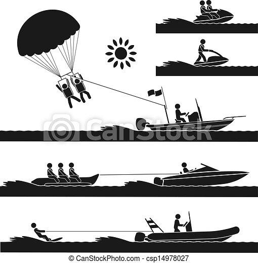 sports nautiques - csp14978027