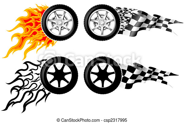 Sports Race Emblems - third set - csp2317995